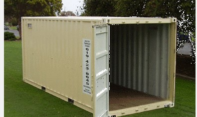 Coronado Mobile Storage in San Diego Offers Custom Cabin Containers!